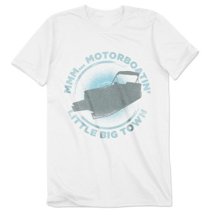 Little Big Town Pontoon Motorboatin T-Shirt