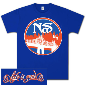 Nas Life Is Good Throwback T-Shirt