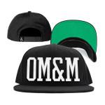 OM&M Logo Snapback Hat