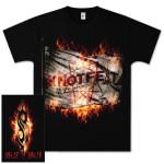 Knotfest Fire Flag T-Shirt