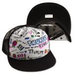 Truk Sign Mesh Jr Hat - Black