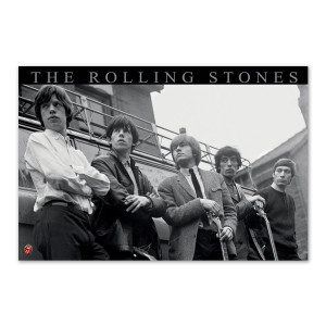 Rolling Stones Truck Poster
