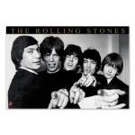Rolling Stones Hands Poster