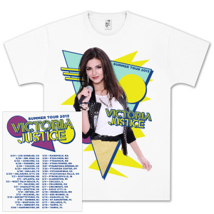 Victoria justice t shirts victoria justice 80 s photo dateback
