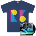 Oversaturated Vinyl + Digital + T-Shirt Pack