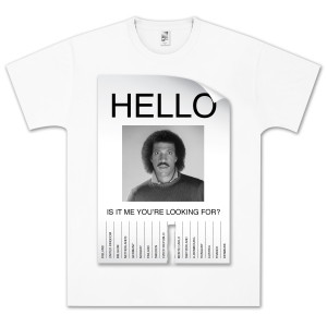 Lionel Richie Hello Flyer T-Shirt