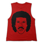 Lionel Richie Face Muscle Tank Top