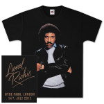 Lionel Richie Hyde Park, London 7/14/2013 T-Shirt