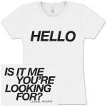 Lionel Richie Hello Ladies T-Shirt