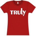 Lionel Richie Truly Text Ladies T-Shirt