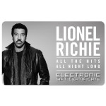 Lionel Richie Electronic Gift Certificate