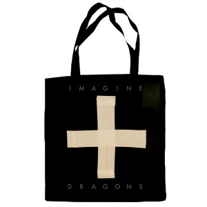 Cross Symbol Tote Bag