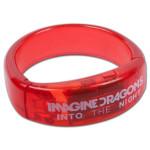 Imagine Dragons Blinking LED Bracelet - red