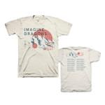 Imagine Dragons Mountains Tour Dateback T-Shirt