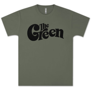 The Green Logo Olive T-Shirt