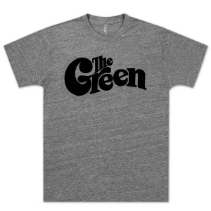 The Green Premium Heather Logo T-Shirt w/ Black Logo