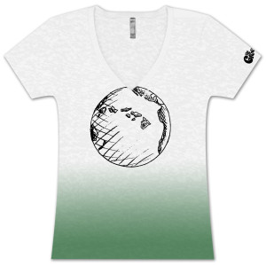 The Green Ladies Earth T-Shirt