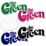 The Green Logo Sticker