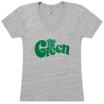 The Green Ladies Logo V-Neck T-Shirt