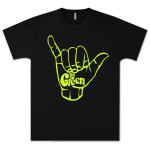 The Green Shaka Neon Yellow T-Shirt