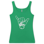 The Green Shaka Ladies Tank Top
