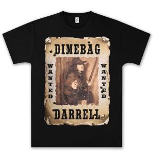 Dimebag Darrell Wanted T-Shirt