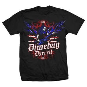 Dimebag USA Flames T-Shirt