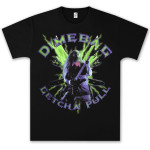 Dimebag Darrell Green Lightning T- Shirt
