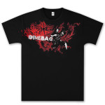 Dimebag Darrell Flourish Flames T- Shirt
