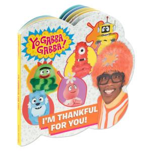 Yo Gabba Gabba! I'M Thankful For You! (Board Book)