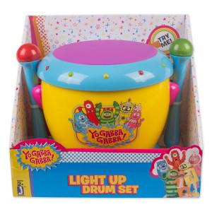 Yo Gabba Gabba! Musical Drums With Light Up Sticks