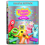 Yo Gabba Gabba! Live!: There's a Party in My City (Deluxe) DVD W/ CD
