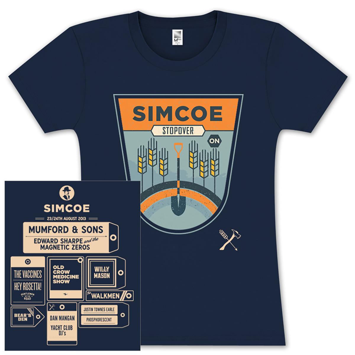 Simcoe Stopover Ladies T-Shirt