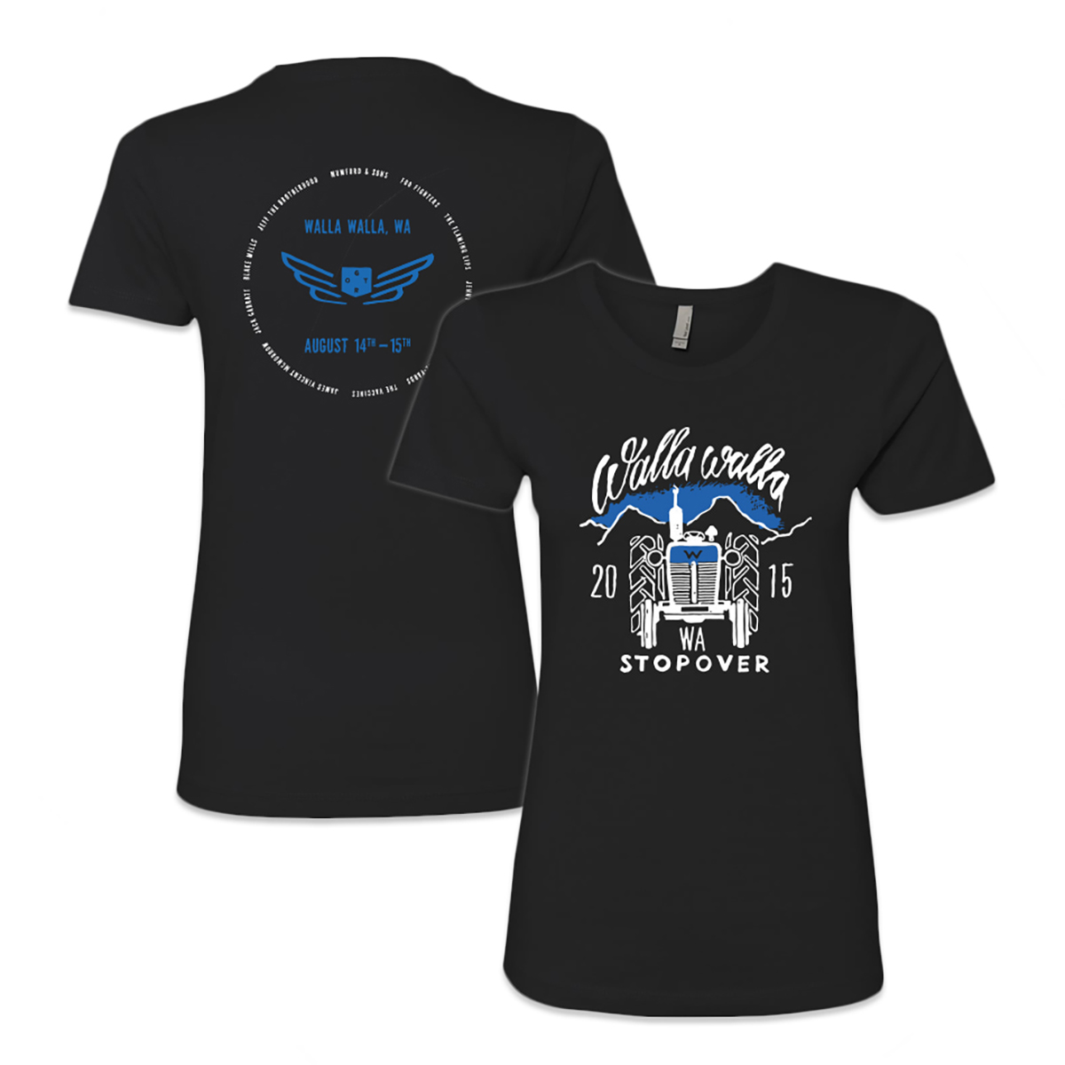 Walla Walla Stopover Ladies T-Shirt