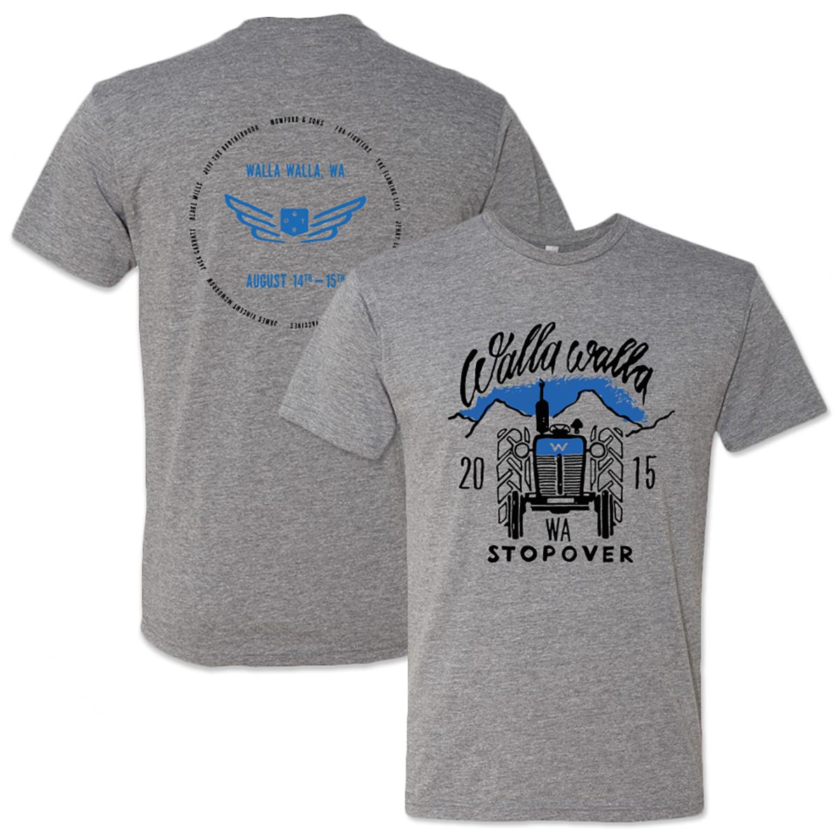 Walla Walla Stopover Unisex T-Shirt