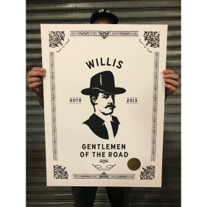 WILLIS ART PRINT 2013