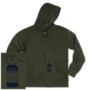 GOTR 2013 Willis Pocket Print Unisex Zip Hoodie