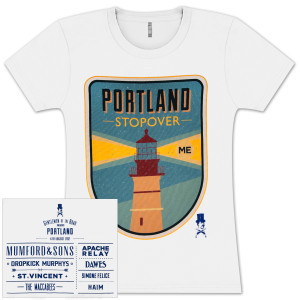 Portland Stopover Ladies T-Shirt