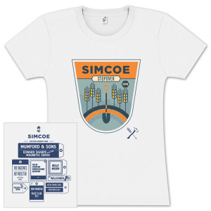 Simcoe Stopover Ladies T-Shirt
