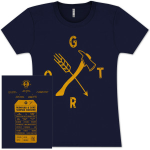 GOTR Arrow & Axe 2013 Ladies T-shirt