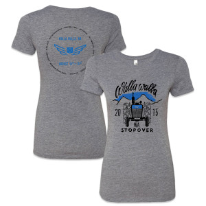 Walla Walla Stopover Ladies T-Shirt