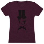 GOTR Top Hat Logo Guns Ladies T-Shirt
