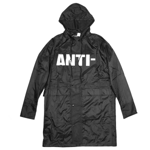 Anti Trench Coat Black