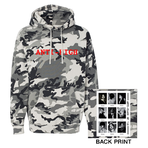 Rihanna Anti-High Pull Over Hoodie