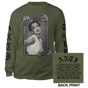 Rihanna Anti Tour Long Sleeve Tee