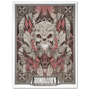 Soundgarden 1/30/2013 Riviera Theater Chicago Print