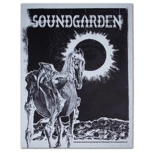 Soundgarden Feb 2013 Milwaukee, WI. Show Print