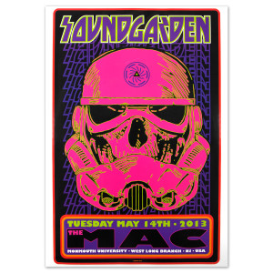 Soundgarden May 14, 2013 West Long Branch, NJ Show Print