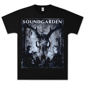 Soundgarden Smoke Skull T-Shirt
