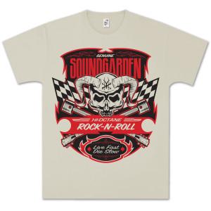 Soundgarden Racer Flags Skull T-Shirt